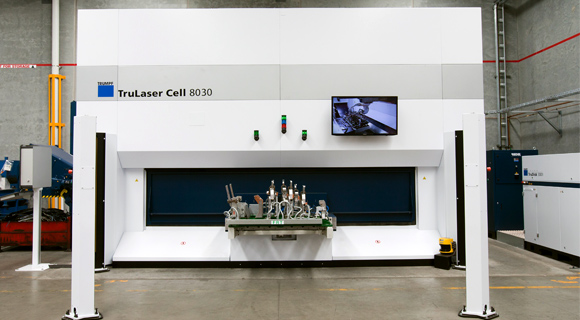 Precision Components Australia Advanced Capability High Speed 3D Laser Processing System