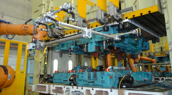 Robot_Press and Dies_featuring automatic 8A Line Presses