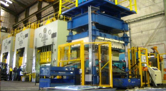 H1 Blanketing press with de-coiler maximise 1300mm width